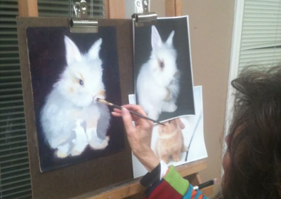bunny-painting