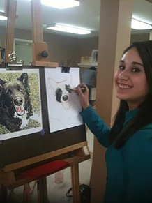 girl-dog-sketch