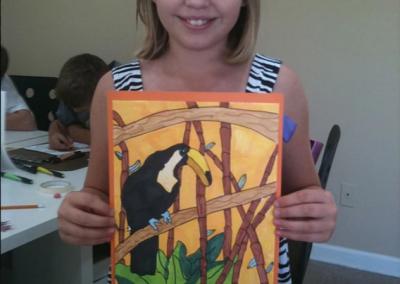 girl-toucan