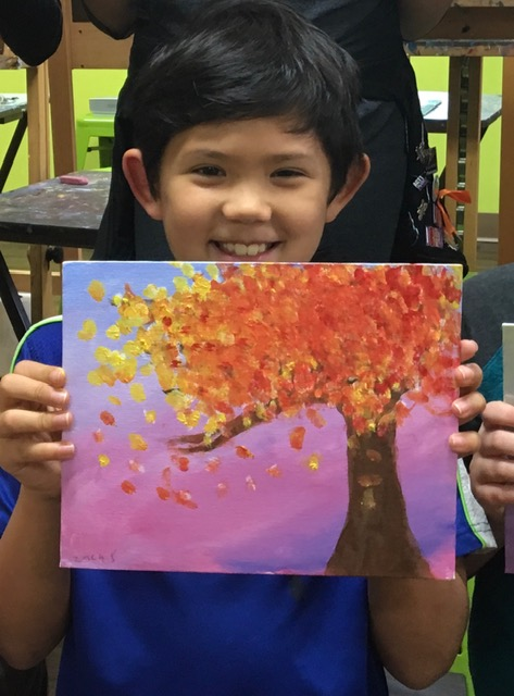 Child_with_Fall_Tree_Painting